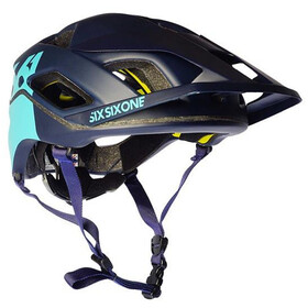 SixSixOne EVO AM Patrol Casque, deep navy